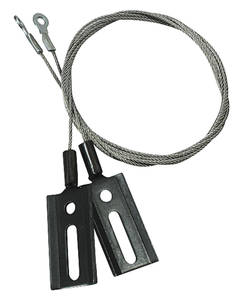 1964-65 Chevelle Cables, Convertible Top