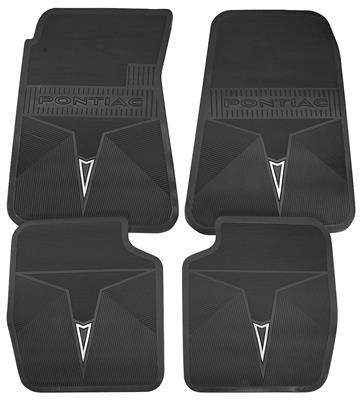 1969-72 Floor Mats, Pontiac Factory Grand Prix