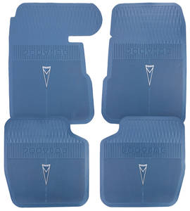 1961-63 Floor Mats, Pontiac Factory Bonneville and Catalina