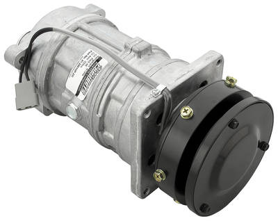 "1977 Cutlass Air Conditioning Compressor, ""Pro6Ten"" High-Pressure Switch (Single Pulley) Raw"