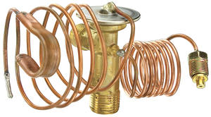 1962-1966 Cadillac Air Conditioning Expansion Valve (Factory Style) with Original Style Curled Bulb, by Old Air Products