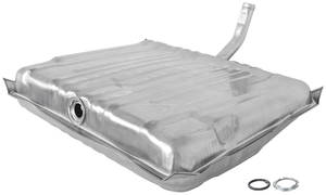 1964 LeMans Fuel Tank Galvanized Exc. Wagon, w/o Vent, 20-Gallon