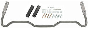 "1973-77 Chevelle Sway Bar, Rear (Original Style) Bar Only 1"" (Hammertone), by RESTOPARTS"