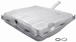 1970 GTO Fuel Tank Galvanized w/EEC, 3 Vent, 17-Gallon