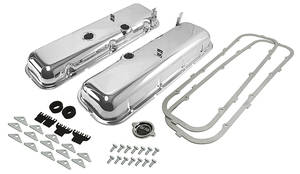 1968-72 Chevelle Valve Cover Kit, Complete Big-Block Drippers