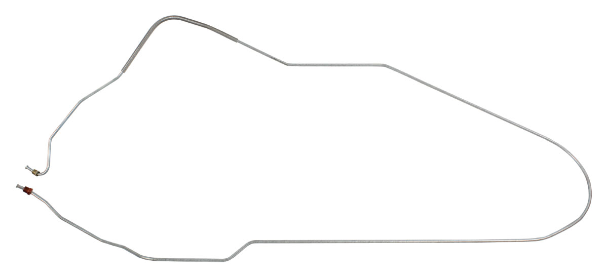 Fine Lines Brake Line, Front-To-Rear Convertible Fits 1968