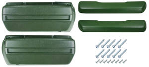 1970-72 Monte Carlo Armrest Kit, Front (Complete), by RESTOPARTS