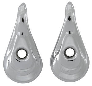 1961-1966 Tempest Coat Hook, Interior Chrome Post Sedan