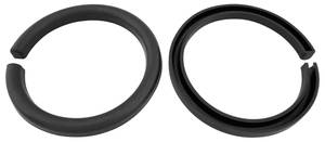 1964-1966 Chevelle Coil Spring Insulator Rear, Rubber, by SoffSeal