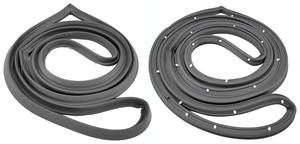 1968-72 LeMans Door Frame Weatherstrip (2-Door Post), by SoffSeal