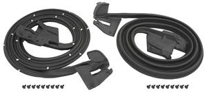 1968-1968 Chevelle Door Weatherstrip, Coupe & Convertible, by SoffSeal