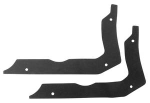 1966-1967 Chevelle Quarter Panel Extension To Body Gasket Foam Gaskets, by RESTOPARTS