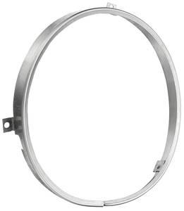 1973-75 Monte Carlo Headlamp Retaining Ring (Round)