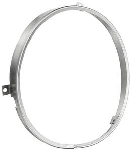 1973-75 Monte Carlo Headlamp Retaining Ring (Round)