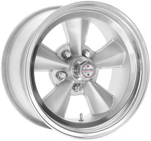 "1978-1988 El Camino Wheel, American Racing T70R Satin 15"" X 8"" (B.S. 4"") -12 mm Offset"