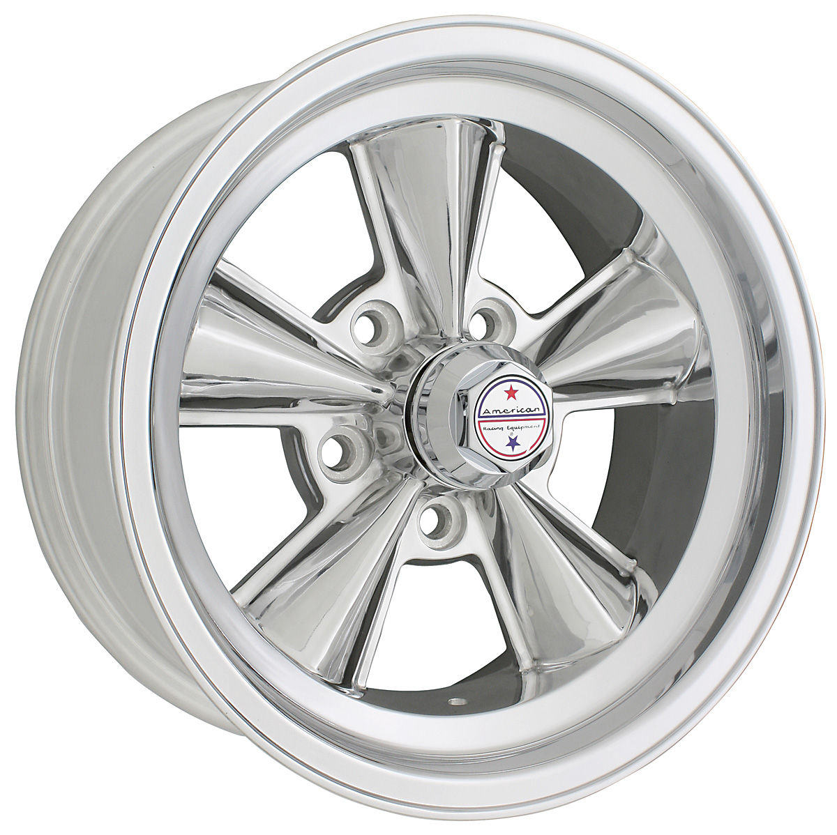 "Photo of Chevelle Wheel, T70R Polished 15"" x 7"" (BS 4"") 0 mm offset"