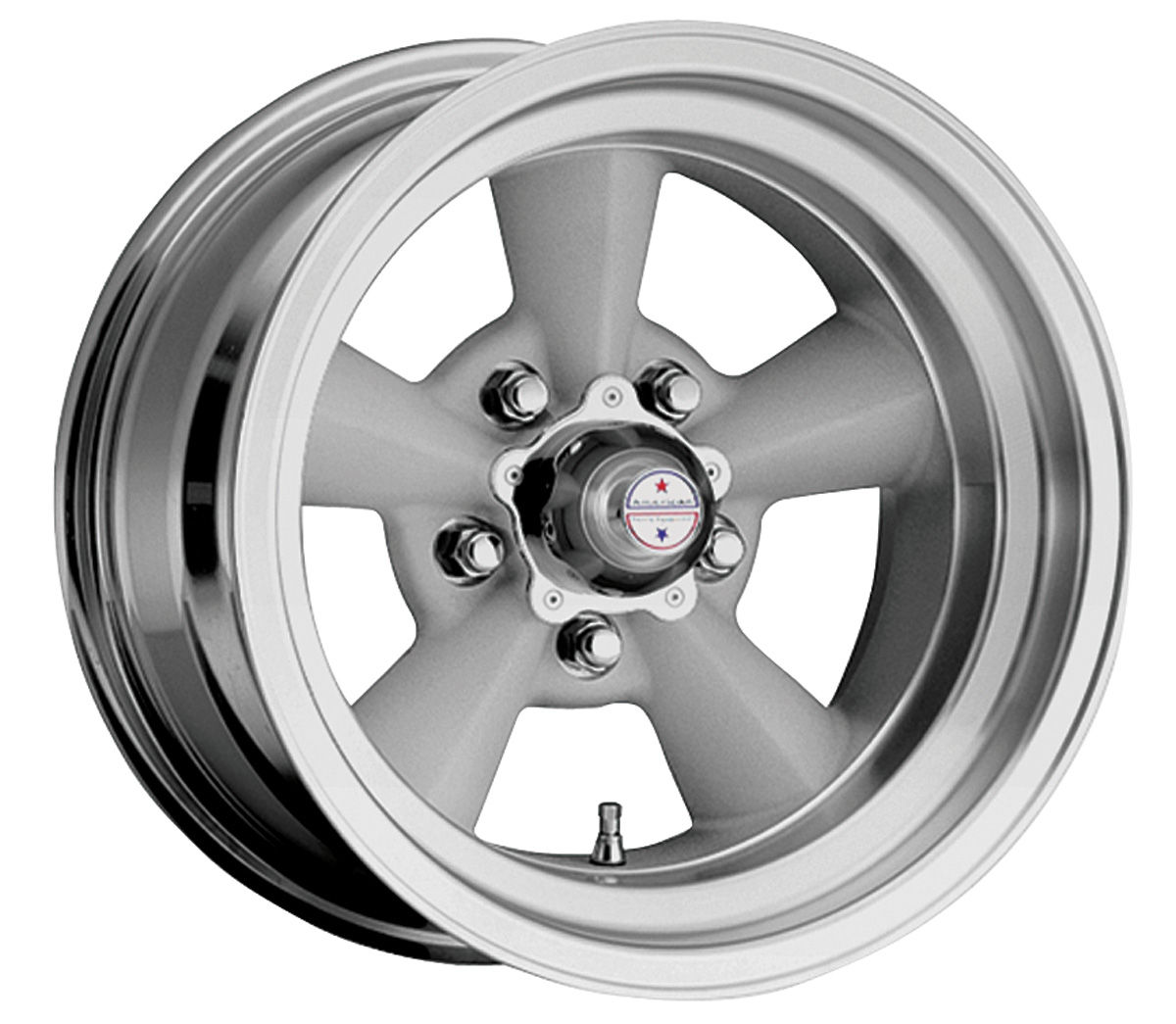 "Photo of Wheel, Torq-Thrust Original 15"" x 5"" (B.S. 2-1/2"") -12.7 mm offset"