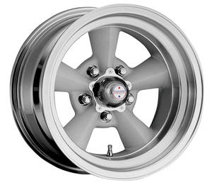 "1964-1973 LeMans Wheel, Torq-Thrust Original 15"" X 5"" (2-1/2"" B.S.) -12.7 mm Offset, by American Racing"
