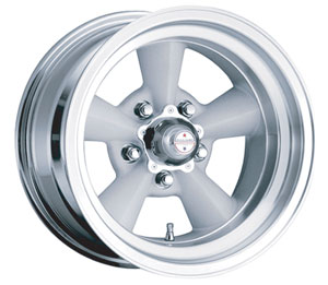"1964-73 GTO Wheel, Torq-Thrust Original 17"" X 8"" (4-1/2"" B.S.) 0 Offset, by American Racing"