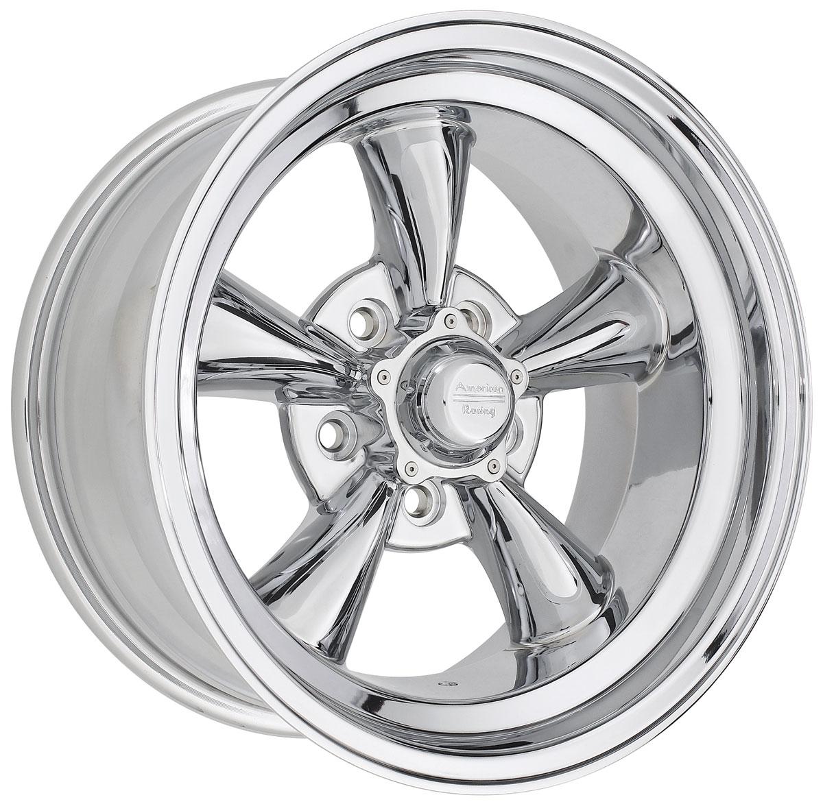 "Photo of Wheel, Torq-Thrust D Chrome 16"" x 8"" (B.S. 4"") .-12 mm offset"