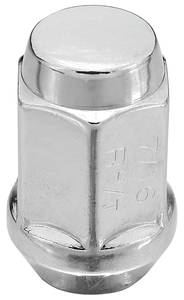 "1964-77 Chevelle Wheel Accessory, American Racing Lug Nuts 7/16""-20 RH/Closed-end"