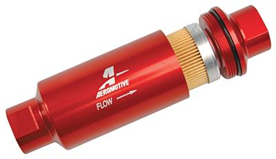 Fuel Filters, Aeromotive, In-Line 10 micron, red