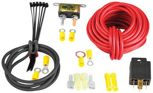 1938-1993 Eldorado Wiring Kit, Fuel Pump, Aeromotive