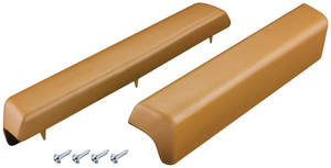 1973-1977 Monte Carlo Armrest Pads, 1973-77 Front, by Dashtop