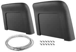 1967-68 GTO Seatback Kits, Premium (Strato Bucket) Bucket Seat (Seatbacks), by RESTOPARTS