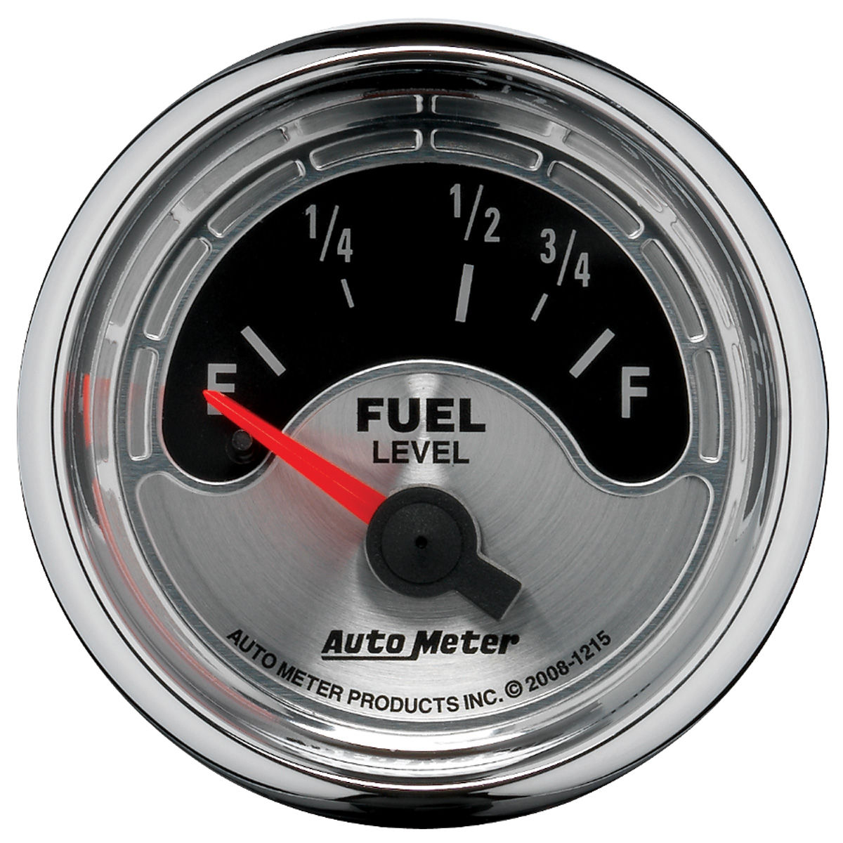 "Photo of Gauge, American Muscle Series 2-1/16"" fuel level (OHMS 73 empty/10 full)"