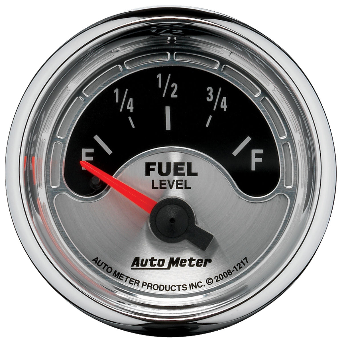 "Photo of Gauge, American Muscle Series 2-1/16"" fuel level (OHMS 240 empty/33 full)"