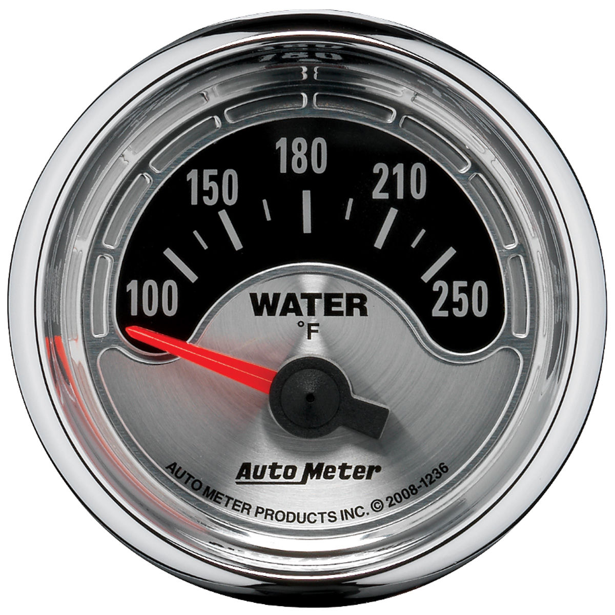 "Photo of Gauge, American Muscle Series 2-1/16"" water temperature (100-250F)"