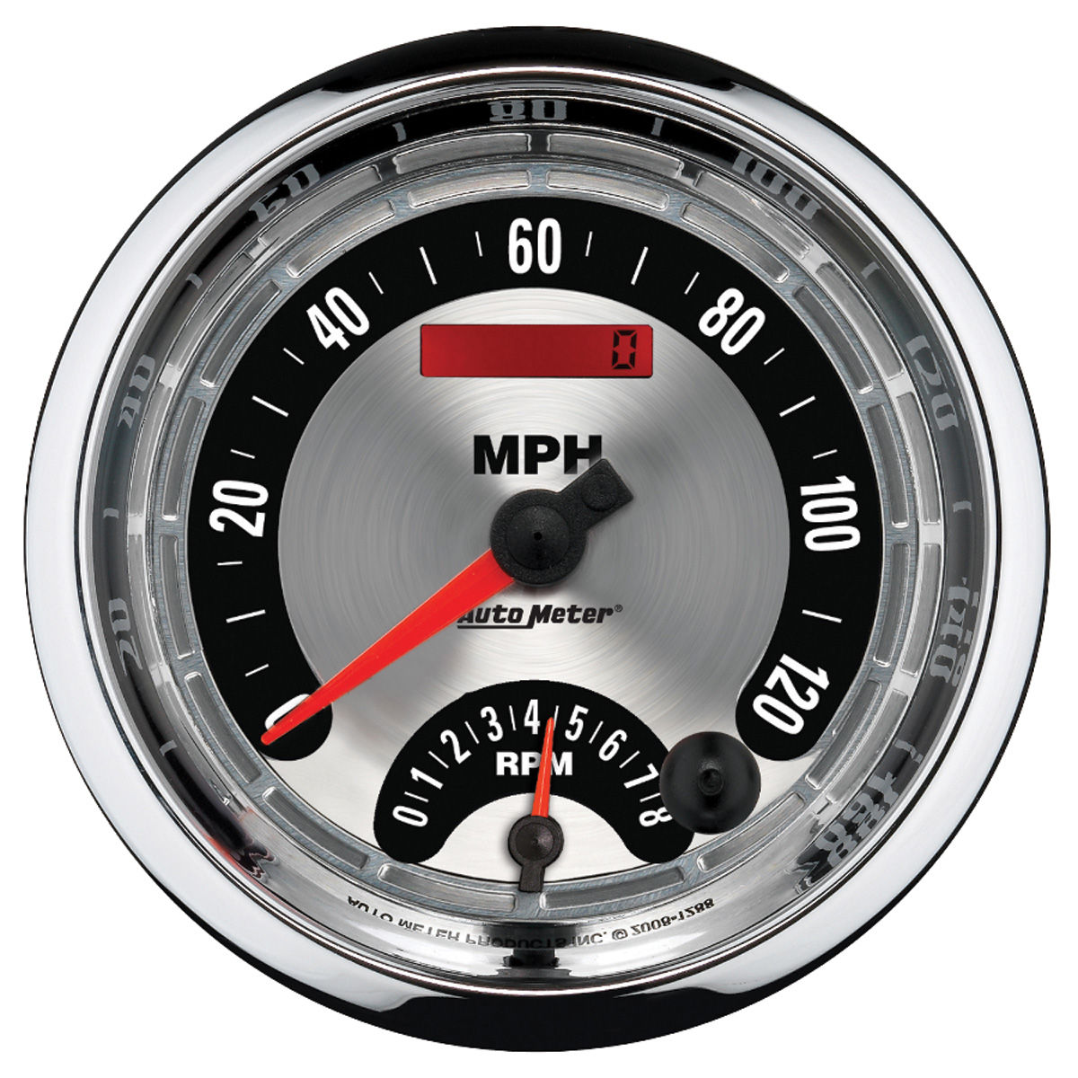 "Photo of Gauge, American Muscle Series 5"" tach & speedo combo"