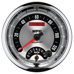 "Gauge, American Muscle Series 5"" Tach & Speedo Combo, by Autometer"