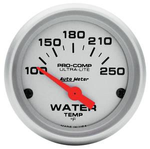"1938-93 Eldorado Gauge, Ultra Lite Series (2"" Water Temperature - 100°-250° F) SSE"