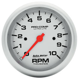 "1964-77 Chevelle Gauge, Ultra Lite Series 3-3/8"" Tach, 10K RPM"