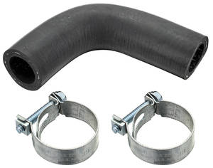 1964-1968 Chevelle Water Pump Bypass Hose Angled
