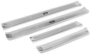 1961-64 Step Plates, Aluminum Fisher Body Bonneville and Catalina 4-dr. Hardtop, Sedan & Wagon