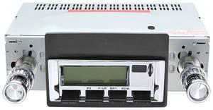 1973-76 Stereo, Vintage Car Audio 300 Series Bonneville/Catalina, Chrome