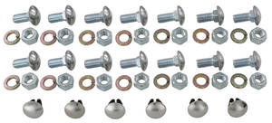 1962-1962 Bonneville Bumper Bolt Kits (32-Piece)
