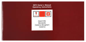 Owners Manuals, Pontiac Bonneville/Catalina