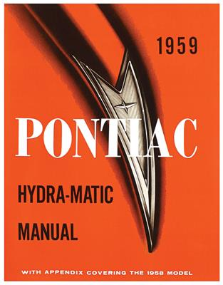 1959-1959 Bonneville Pontiac Hydramatic Transmission Manual