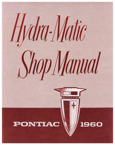 1960-1960 Bonneville Pontiac Hydramatic Transmission Manual