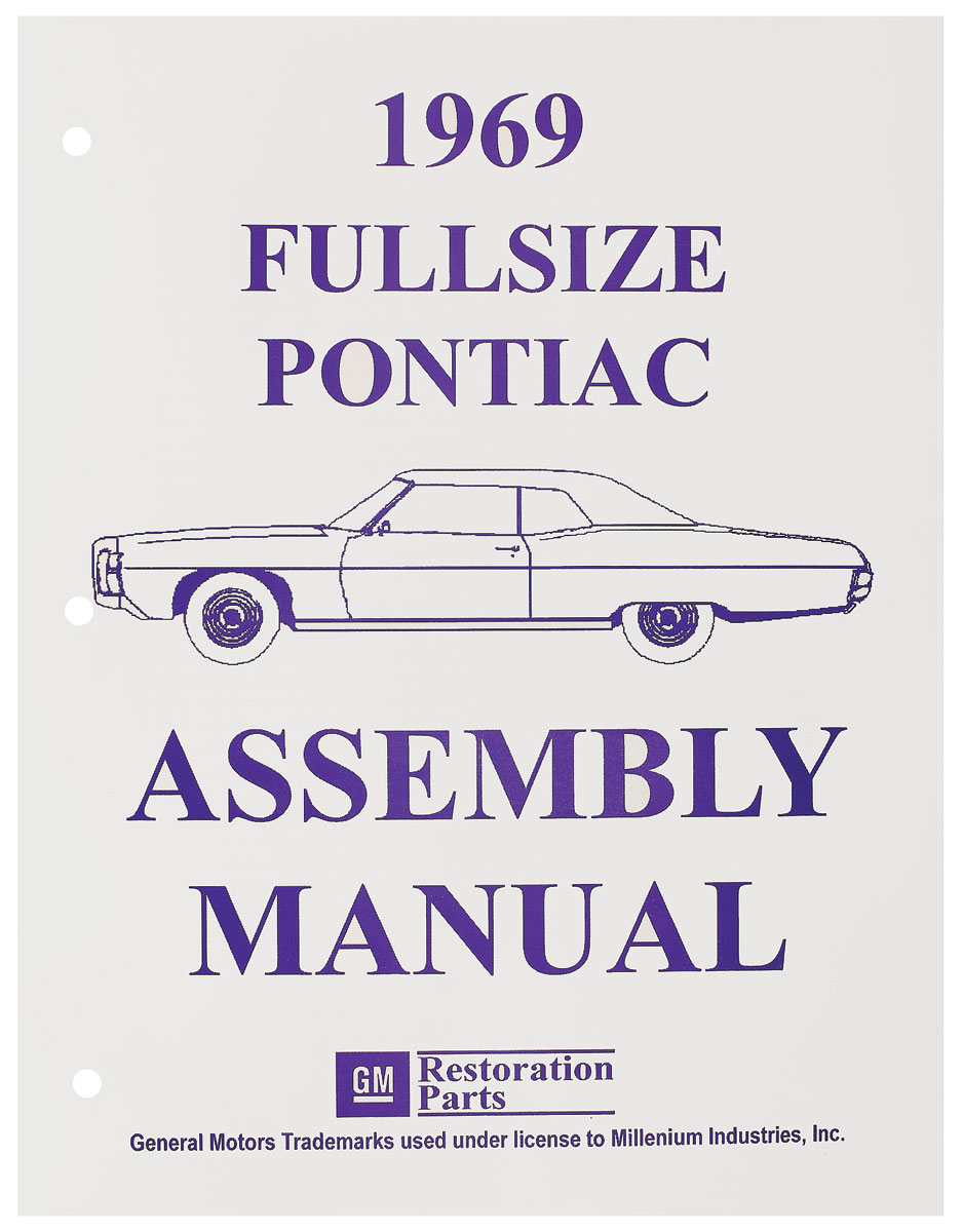 Photo of Factory Assembly Line Manuals Bonneville/Catalina