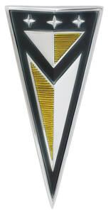 1961-1961 Catalina Hood Emblem, 1961 Bonneville/Catalina (Arrowhead)
