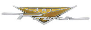 "1959-1959 Catalina Fender Emblem, 1959 Bonneville & Catalina ""Tri-Power"""