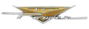 "Fender Emblem, 1959 Bonneville & Catalina ""Tri-Power"""