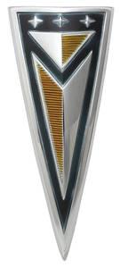 1961-1961 Catalina Deck Lid Emblem, 1961 Bonneville/Catalina (Arrowhead)