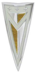 Bonneville Deck Lid Emblem, 1962 Pontiac (Arrowhead)