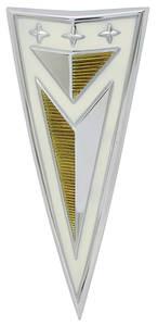 1963-1963 Catalina Deck Lid Emblem, 1963 Bonneville/Catalina (Arrowhead)